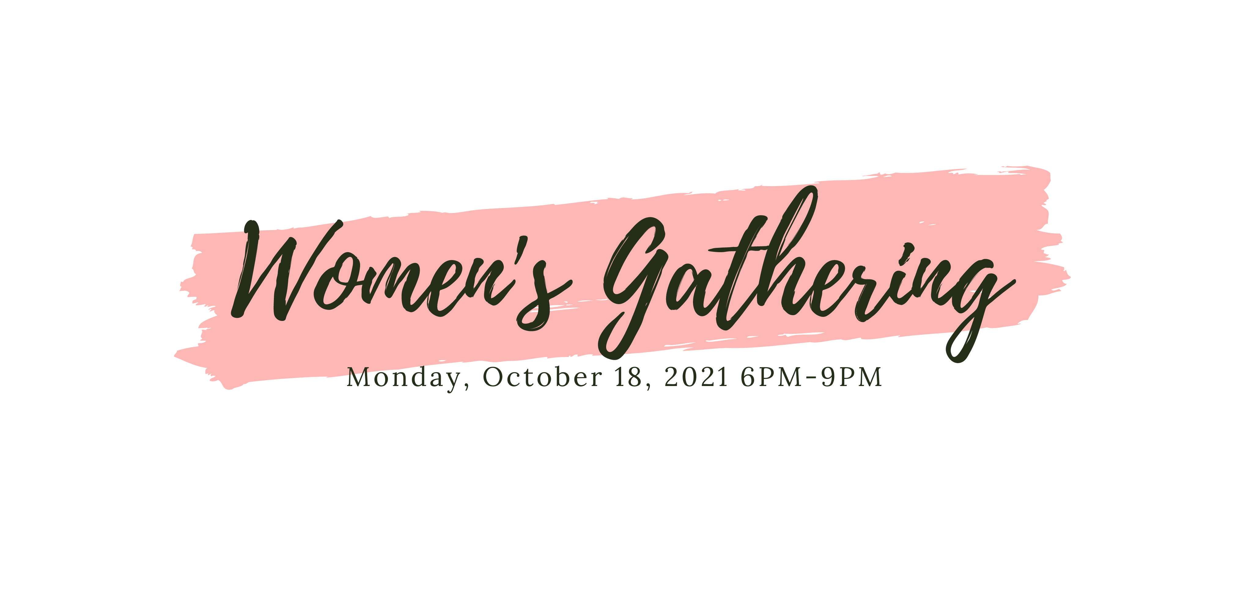 Women's Gathering Banner